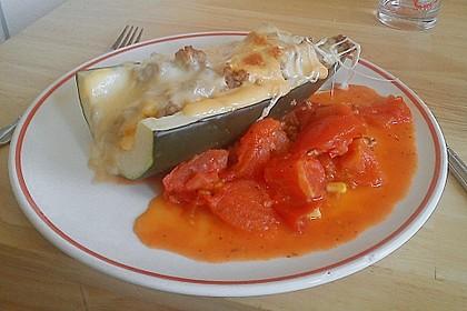 Gefüllte Zucchini 0