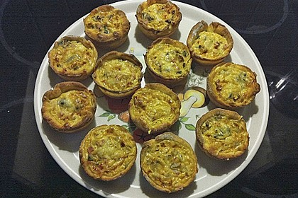 Mini-Party-Quiches 100