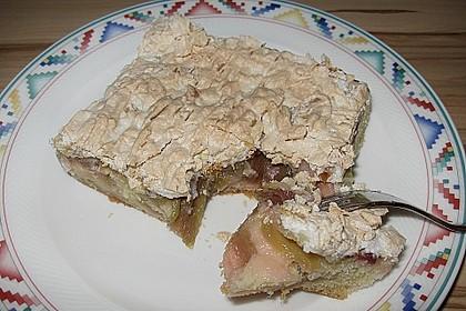 Rhabarberkuchen mit Baisergitter - vom Blech 6