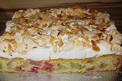 Rhabarberkuchen mit Baisergitter - vom Blech 4