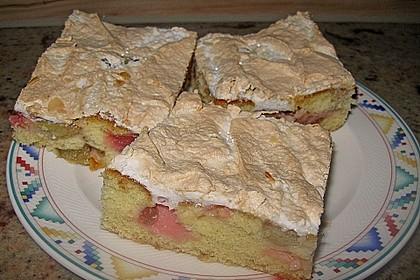Rhabarberkuchen mit Baisergitter - vom Blech 5