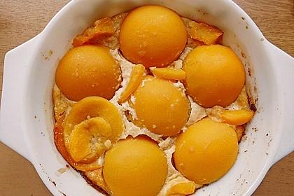 Süßer Pfirsich - Amaretto - Auflauf 2