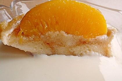 Süßer Pfirsich - Amaretto - Auflauf