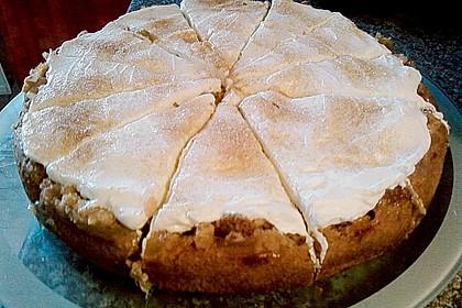 Rhabarberkuchen mit Streuseln und Schmandcreme 3