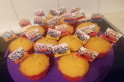 Honig - Muffins  mit  Maismehl 17