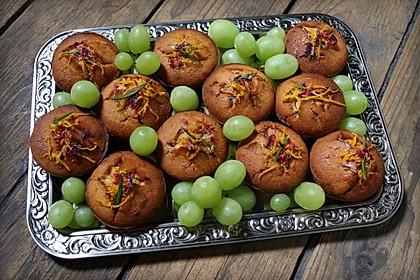 Honig - Muffins  mit  Maismehl 2