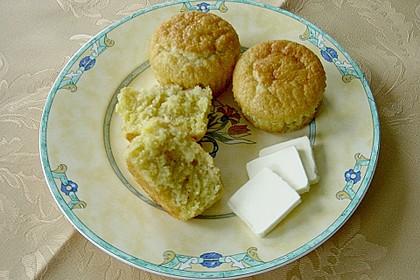 Honig - Muffins  mit  Maismehl 21