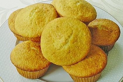 Honig - Muffins  mit  Maismehl 12