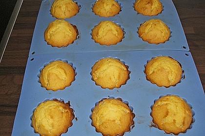 Honig - Muffins  mit  Maismehl 18