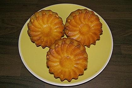 Honig - Muffins  mit  Maismehl 9