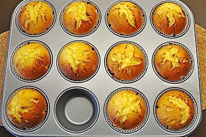 Honig - Muffins  mit  Maismehl 7