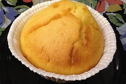 Honig - Muffins  mit  Maismehl 10