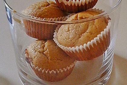 Honig - Muffins  mit  Maismehl 1