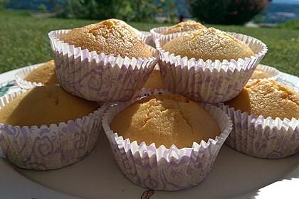 Honig - Muffins  mit  Maismehl 3