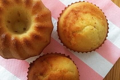 Honig - Muffins  mit  Maismehl