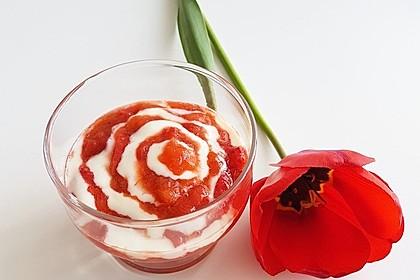 Eichkatzerls Erdbeer - Rhabarber - Kompott