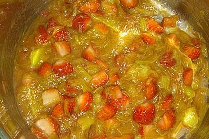 Eichkatzerls Erdbeer - Rhabarber - Kompott 17