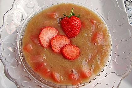 Eichkatzerls Erdbeer - Rhabarber - Kompott 5