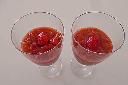 Eichkatzerls Erdbeer - Rhabarber - Kompott 11