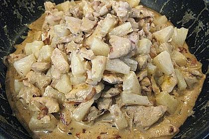 Hähnchen-Ananas-Curry mit Kokosmilch 45