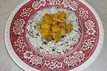 Hähnchen-Ananas-Curry mit Kokosmilch 30