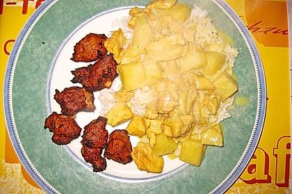 Hähnchen-Ananas-Curry mit Kokosmilch 37