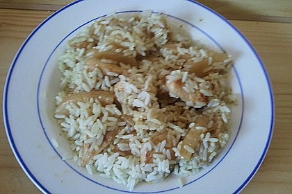 Hähnchen-Ananas-Curry mit Kokosmilch 40
