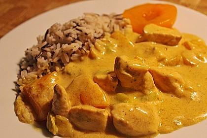 Hähnchen - Pfirsich - Curry 0
