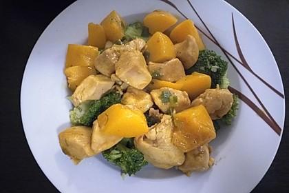 Hähnchen - Pfirsich - Curry 2