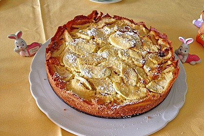 Schweizer Apfelkuchen 1