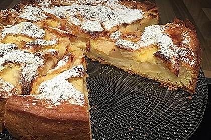 Schweizer Apfelkuchen