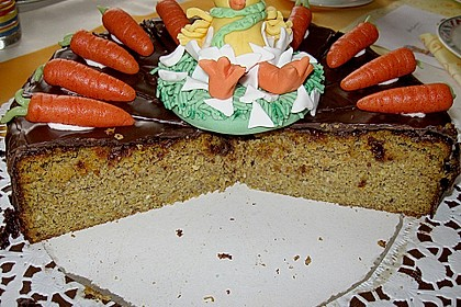 Möhrenkuchen ohne Mehl 7