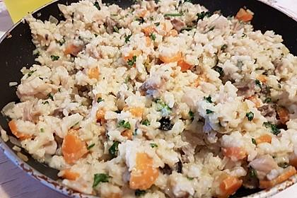 Räucherfisch mit Curryreis 1