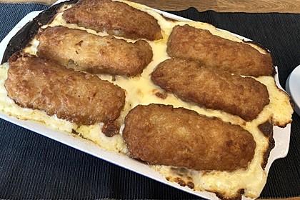 Backfischauflauf mit Béchamel-Käse-Sauce 2