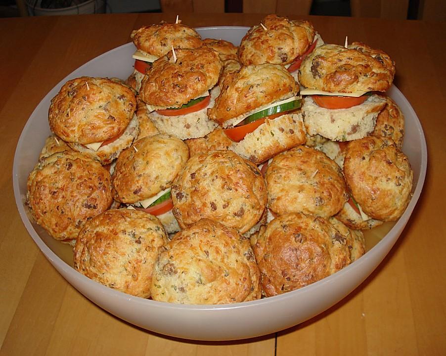 burger muffins rezept mit bild von raphunzel. Black Bedroom Furniture Sets. Home Design Ideas