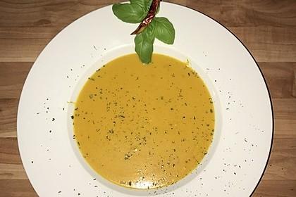 Karottensuppe mit Curry 2
