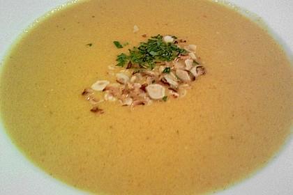 Karottensuppe mit Curry 13