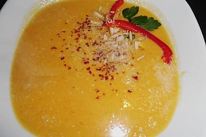 Karottensuppe mit Curry 14