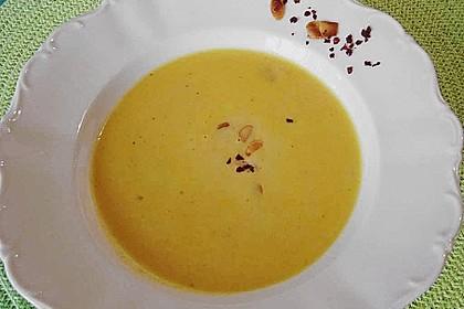 Karottensuppe mit Curry 8