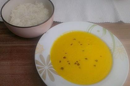Karottensuppe mit Curry 11