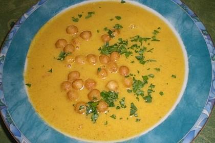Karottensuppe mit Curry 6