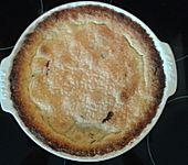 Amerikanischer Blueberry Pie