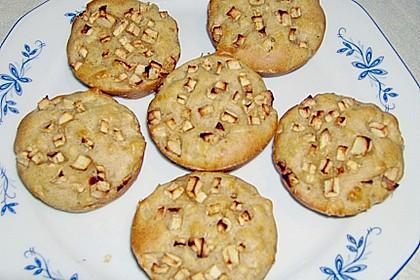 Fett- und kalorienarme Apfel - Zimt - Muffins 8