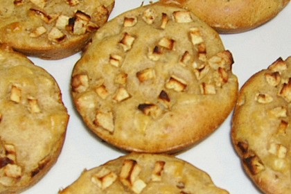Fett- und kalorienarme Apfel - Zimt - Muffins 12