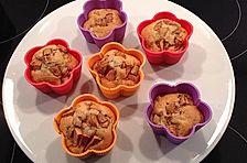 Fett- und kalorienarme Apfel - Zimt - Muffins