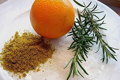 Orangen - Rosmarin - Salz
