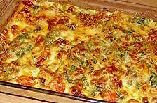 Tomaten - Spinat - Lasagne