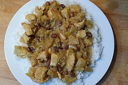Indisches Hähnchencurry mit Früchten 1