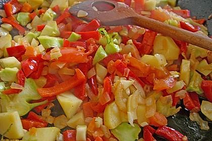 Spargel auf Kräuter- und Gemüsebett 4