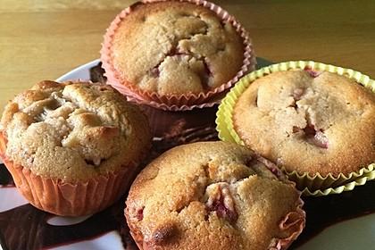 Erdbeer - Rhabarber - Muffins 11